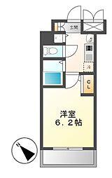 プレサンス鶴舞公園WEST[6階]の間取り