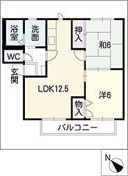 ルート3[1階]の間取り