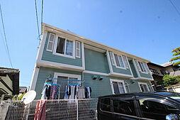 広島県広島市安佐南区上安6丁目の賃貸アパートの外観
