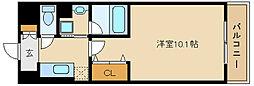 クレスト園田[2階]の間取り