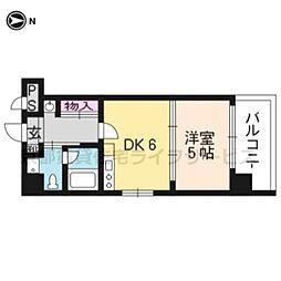 G-stage京都油小路[201号室]の間取り