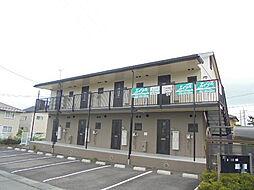 長野県長野市稲田3丁目の賃貸アパートの外観