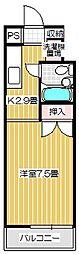 Stream Style310 B[105号室号室]の間取り