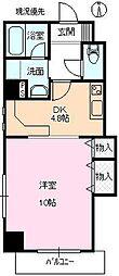 ダイビシマンション[3階]の間取り