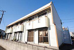 埼玉県越谷市大里の賃貸アパートの外観