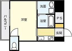 片野タカヤコーポレーションビル[7階]の間取り