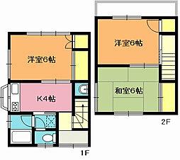 松本アパート[101号室]の間取り