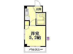 弁天橋駅 4.4万円