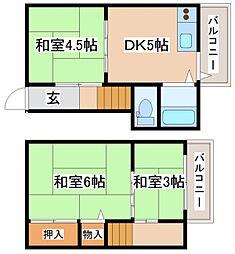 [一戸建] 兵庫県明石市東藤江2丁目 の賃貸【/】の間取り
