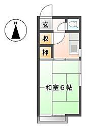 武蔵野ハイツ[2階]の間取り