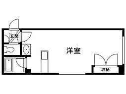 北海道札幌市清田区清田三条1丁目の賃貸マンションの間取り