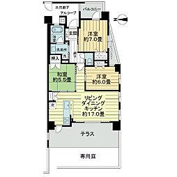ワコーレ武庫之荘本町[1階]の間取り