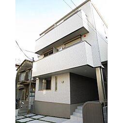 東京都新宿区早稲田南町の賃貸マンションの外観