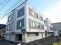北海道札幌市東区北二十二条東18丁目の賃貸アパートの外観