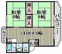マンション栄[2階]の間取り
