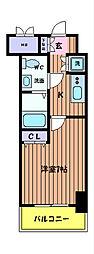 KDXレジデンス立川[7階]の間取り