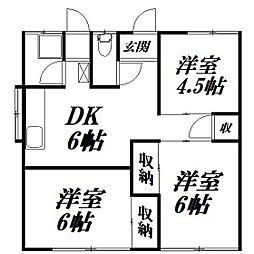 [一戸建] 静岡県浜松市中区西伊場町 の賃貸【/】の間取り