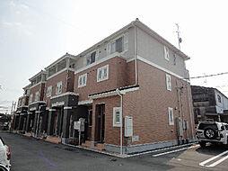 愛媛県松山市空港通1丁目の賃貸アパートの外観