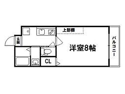京洛マンション[3階]の間取り