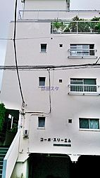 コーポスリーエム[3階]の外観