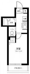 東京メトロ有楽町線 小竹向原駅 徒歩14分の賃貸アパート 2階1Kの間取り