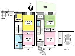 [テラスハウス] 神奈川県茅ヶ崎市菱沼1丁目 の賃貸【/】の間取り