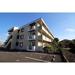 茨城県つくば市松野木の賃貸マンションの外観