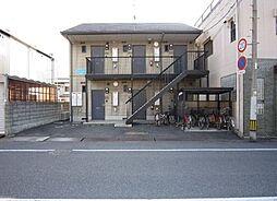 岡山県玉野市築港2丁目の賃貸アパートの外観