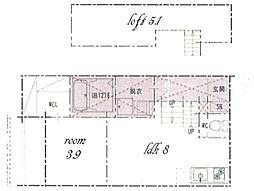 M&N[1階]の間取り