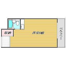 サンハイツ長崎[2階]の間取り