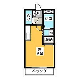 プラムV2[2階]の間取り
