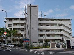 大阪府貝塚市鳥羽の賃貸マンションの外観