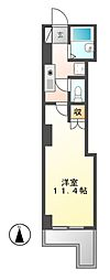 ライジング泉[3階]の間取り