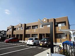福岡県遠賀郡水巻町二東3の賃貸アパートの外観