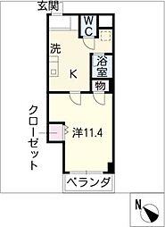 VIA 141[8階]の間取り