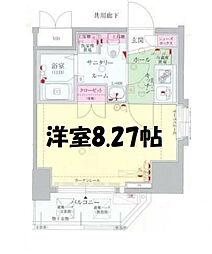 ディナスティ福島II[9階]の間取り