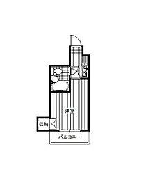 神奈川県相模原市中央区清新4丁目の賃貸マンションの間取り