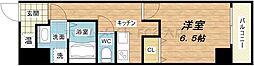 uro玉造II(ウーロ玉造II)[3階]の間取り