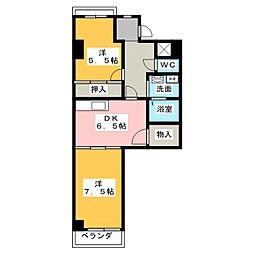 エミナンス神田[1階]の間取り