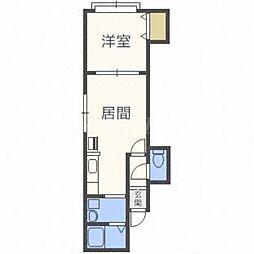 レストプレイス22[3階]の間取り