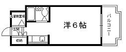 コモリスター桂[3階]の間取り