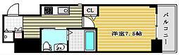 ステージグランデ堺筋本町[9階]の間取り