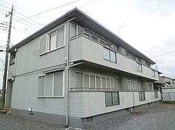 栃木県宇都宮市若松原3の賃貸アパートの外観