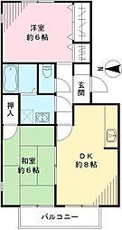 欅閣 ケヤキカク[101号室号室]の間取り