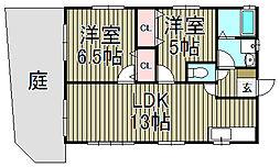 [一戸建] 神奈川県鎌倉市今泉1丁目 の賃貸【/】の間取り