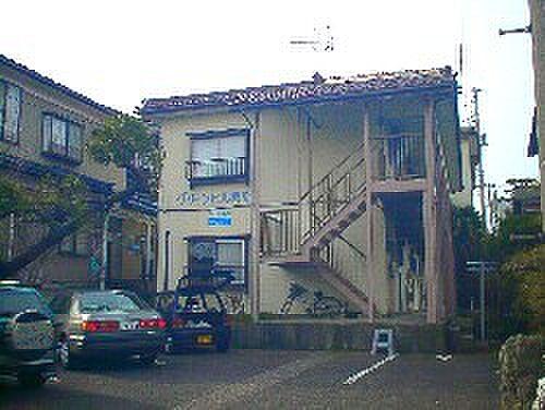 新潟県新潟市西区寺尾上4丁目の賃貸アパートの外観