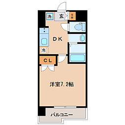 レジディア仙台原ノ町[2階]の間取り