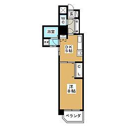 レインボー上飯田[3階]の間取り