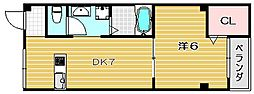 山崎第1マンション[3階]の間取り