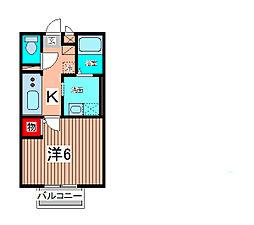 パル・コメット[2階]の間取り